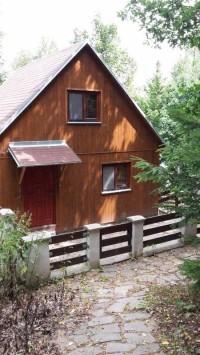 Zrekonstruovaná chata na Vranově