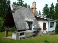 Komfortní chata u lesa
