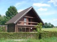 Chata u rybníku Špinka
