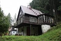 Chata Malenka u sjezdovky s infrasaunou a WIFI