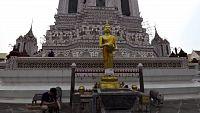Bangkok, po řece k chrámu Wat Arun