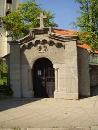 Kaple sv. Cyrila a Metoděje, zvaná Cyrilka.
