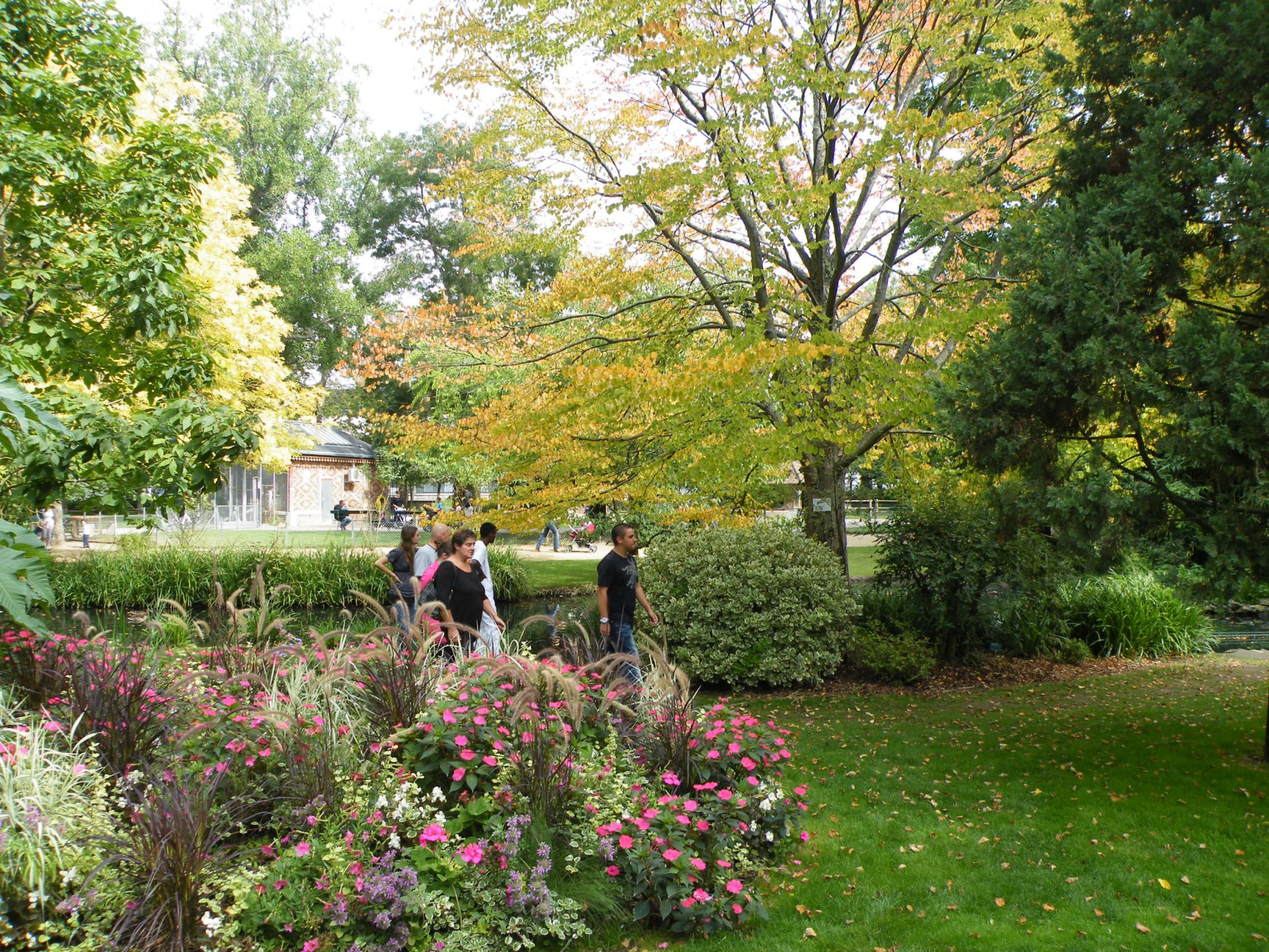 Fotogalerie botanick zahrada v tours jardin botanique for Jardin botanique tours