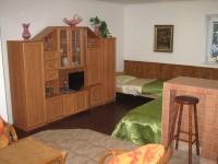 apartmán 1B čtyřlůžkový cena 1000 Kč