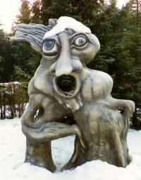 Kolem Medlova a Sykovce po Olšiakových sochách