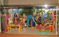 Expozice panenek Barbie