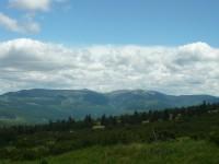 Výhled na Krkonoše