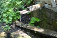 Studánka s pitnou vodou