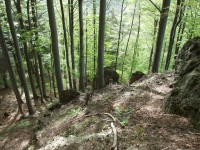 Heckelovy skály (Heckel-Felsen)