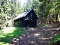 Opavská chata - dříve velitelství tábora