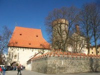 Bechyňská brána a věž Kotnova