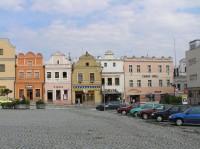 Havlíčkův Brod: Část náměstí 2.
