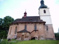 Za nádherným kostelem z Hostinného do Dolní Olešnice
