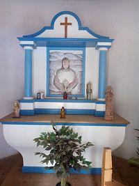 Kaple sv. Anny a Křížová cesta nedaleko Borové Lady