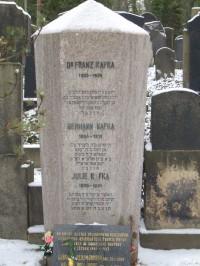 Procházka po Olšanských hřbitovech 2-Nový židovský hřbitov