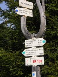 Z Harrachova do Szklarske Poreby přes Svinské skály