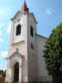 kostel Třebotov: kostel Třebotov