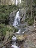 vodopád bílá strž, šumava: vodopád bílá strž, šumava