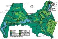 mapa - Průhonický park: mapa - Průhonický park