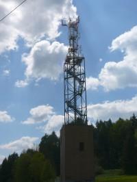 telekom.věž s rozhlednou  Zuberský Kopec u Trhové Kamenice