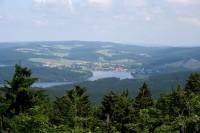 Výhled na Frymburk