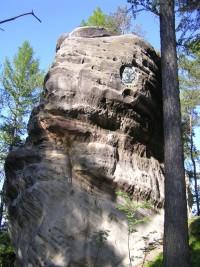 vrcholová skála