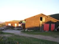 Chata pod Chlebom – v prvních ranních paprscích (srpen 2011)