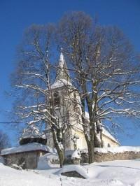 Bartošovice v Orl. h. - kostel
