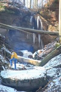 Novopacké vodopády (Sýkornické)