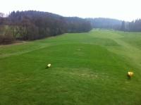 Svobodne hamry - trasa golf. hřiště