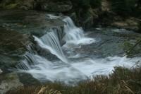 Čertova strouha - vodopád