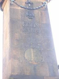 Památník bitvy u Kolína - detail - 4.12.2007