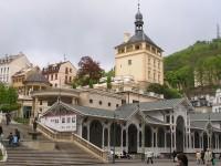 Zámecký vrch s Tržní kolonádou - 10.5.2004