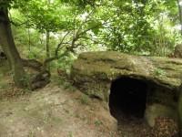 Valečovské skalní obydlí - 1.7.2011