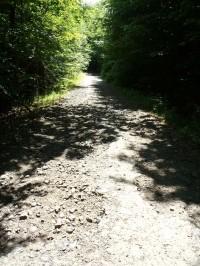 Nejhorší úsek celé trasy ve stoupání ke Kříži - 27.5.2012