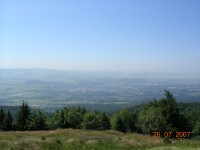 pohled z Komáří Vížky směrem na Teplice