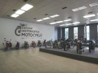 Expozice historických motocyklů Ostrava