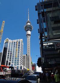 Nový Zéland - Auckland - Sky Tower