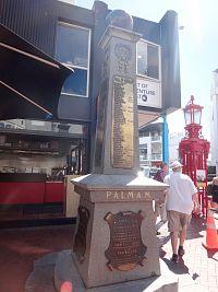 Nový Zéland - Auckland - pomník I. svět. války