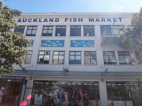 Nový Zéland - Auckland - rybí trh