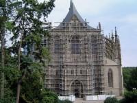 Kutná Hora chrám sv. Barbory památka UNESCO
