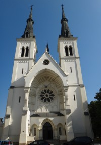 Ostrava-Přívoz kostel Neposkvrněného početí Panny Marie