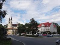Orlová stará radnice a náměstí