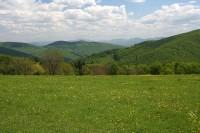 Pohled na Bílé Karpaty
