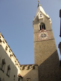 Zvonice farního kostela (archanděl Michael)