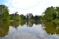Lednicko - valtický areál - Lednice - zámocký rybník