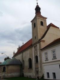 Mikulov - Kostol sv. Jana Krstiteľa