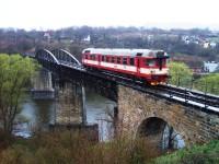 Historický železničný most v Kadani