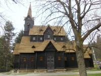 Obec Bílá - kostolík a okolie
