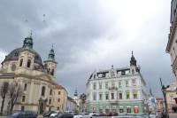 Kroměříž - pamiatky na Masarykovom námestí
